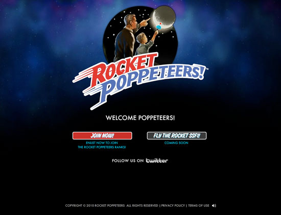 rocket poppeteers email