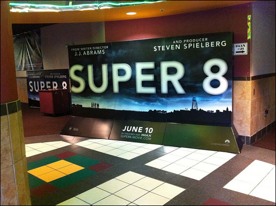 super 8 display